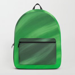 Harmony 4 Green - Abstract Art Series Backpack