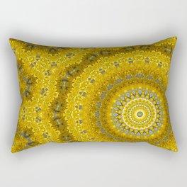 Gelbe Forsithien in Gross Rectangular Pillow