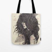 fern Tote Bags featuring Fern by Brettisagirl