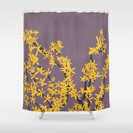 Forsythia II Shower Curtain