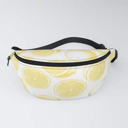Hand drawn lemon pattern Fanny Pack