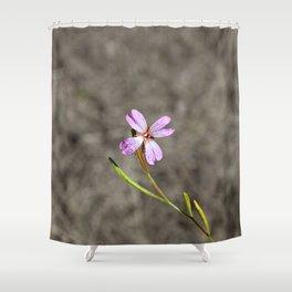 Pink in Idaho Shower Curtain