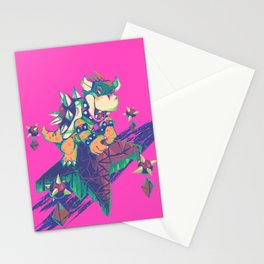 Bowser in the Sky Stationery Cards