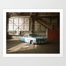 King Of The Streets SF 2015 Art Print
