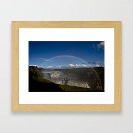 Iceland Rainbow Framed Art Print