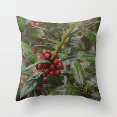 Holly-luia Throw Pillow