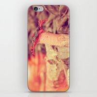 poetry iPhone & iPod Skins featuring Poetry by Light Wanderer