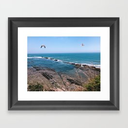 Bolinas Framed Art Print