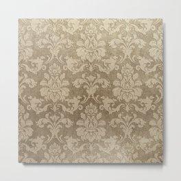 Beige Royal Metal Print