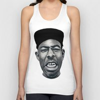 tyler the creator Tank Tops featuring IFHY (Tyler the creator) by Black Neon