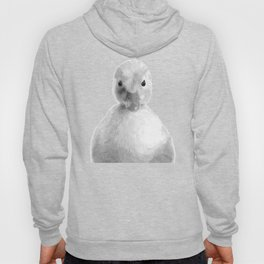 Black and White Duckling Hoody