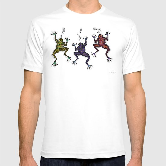 DANCING FROGS II T-shirt