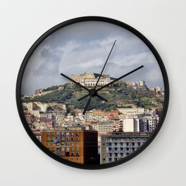 Castle Saint Elmo Wall Clock
