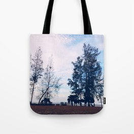 Lonely Islet Tote Bag