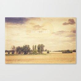 The Heartland Canvas Print