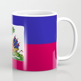 Haiti flag emblem Coffee Mug