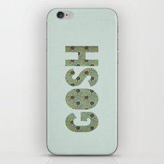 COLLAGE LOVE: GOSH  iPhone & iPod Skin