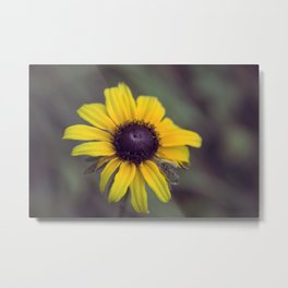 Macro Flower Metal Print