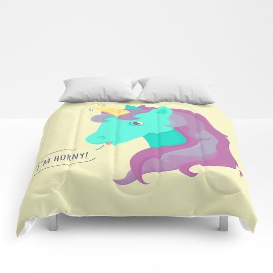 Hornycorn Comforters