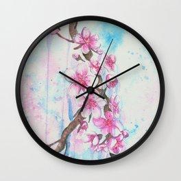 Cherry Blossoms \ Sakura Wall Clock
