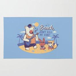 Beach! Don't Kill My Vibe Rug