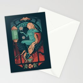 Aran Nouveau Stationery Cards
