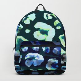 Animal Skin Abstract Leopard Pattern Backpack