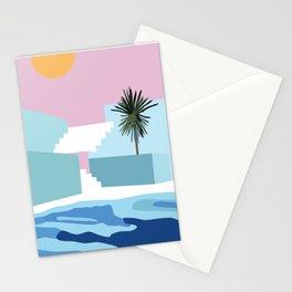 Pool & Steps Stationery Cards