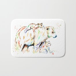 Bear Family - and then there were 3 Bath Mat