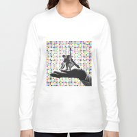 dancing Long Sleeve T-shirts featuring Dancing by Cs025