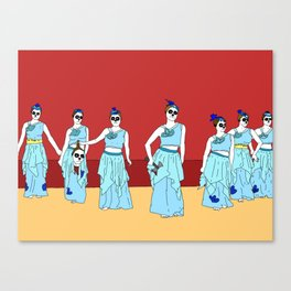 Naughty Nurses Canvas Print