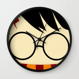 potter face Wall Clock