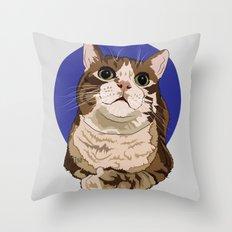 Precious Little Nugget Throw Pillow