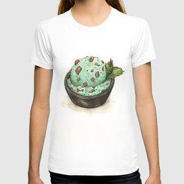 Mint Chocolate Chip Ice Cream T-shirt