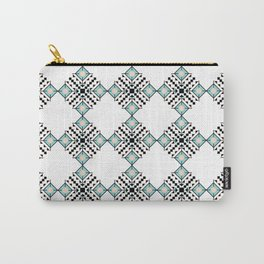 Vintage Bohemian Aztec Inspired Pattern Carry-All Pouch