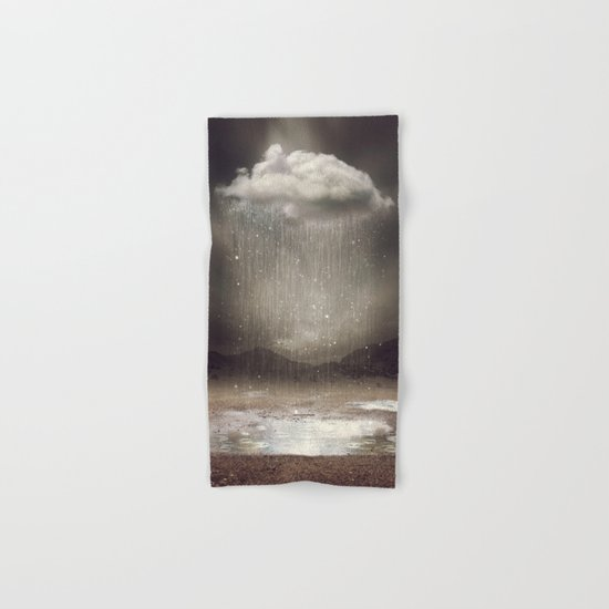 It's Okay. Even the Sky Cries Sometimes. Hand & Bath Towel