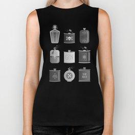 Flask Collection – Black Palette Biker Tank