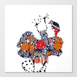 Imaginary friend! Canvas Print