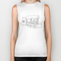 architecture Biker Tanks featuring architecture by Great Siberia Studio