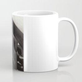 Droplets on Metal Coffee Mug