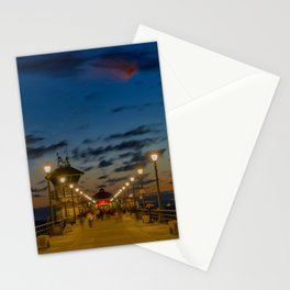 Looking Down the Pier Stationery Cards