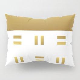 Modern geometric background gold #society6 #decor #buyart #artprint Pillow Sham