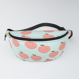 Funny Peach Fanny Pack