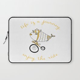 Life is a journey, enjoy the ride! Laptop Sleeve
