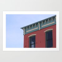 Brightness in Brooklyn Art Print