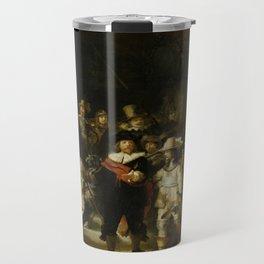 Rembrandt's The Night Watch Travel Mug