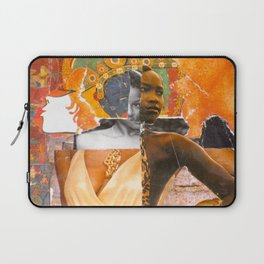 Hybridity Race and Womanhood: Selves (Detail 1) Laptop Sleeve