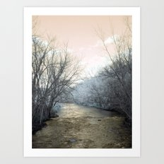 February Rust Art Print