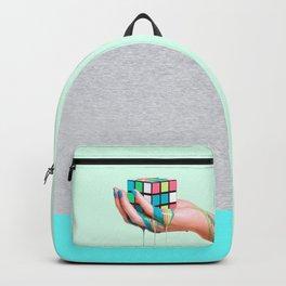 MELTING RUBIKS CUBE Backpack