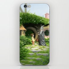 Unwelcome Company iPhone & iPod Skin